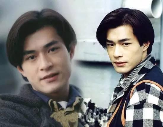然而对于男生而言, 80年代,中分发型可谓是红极一时, 古天乐,郭富城图片
