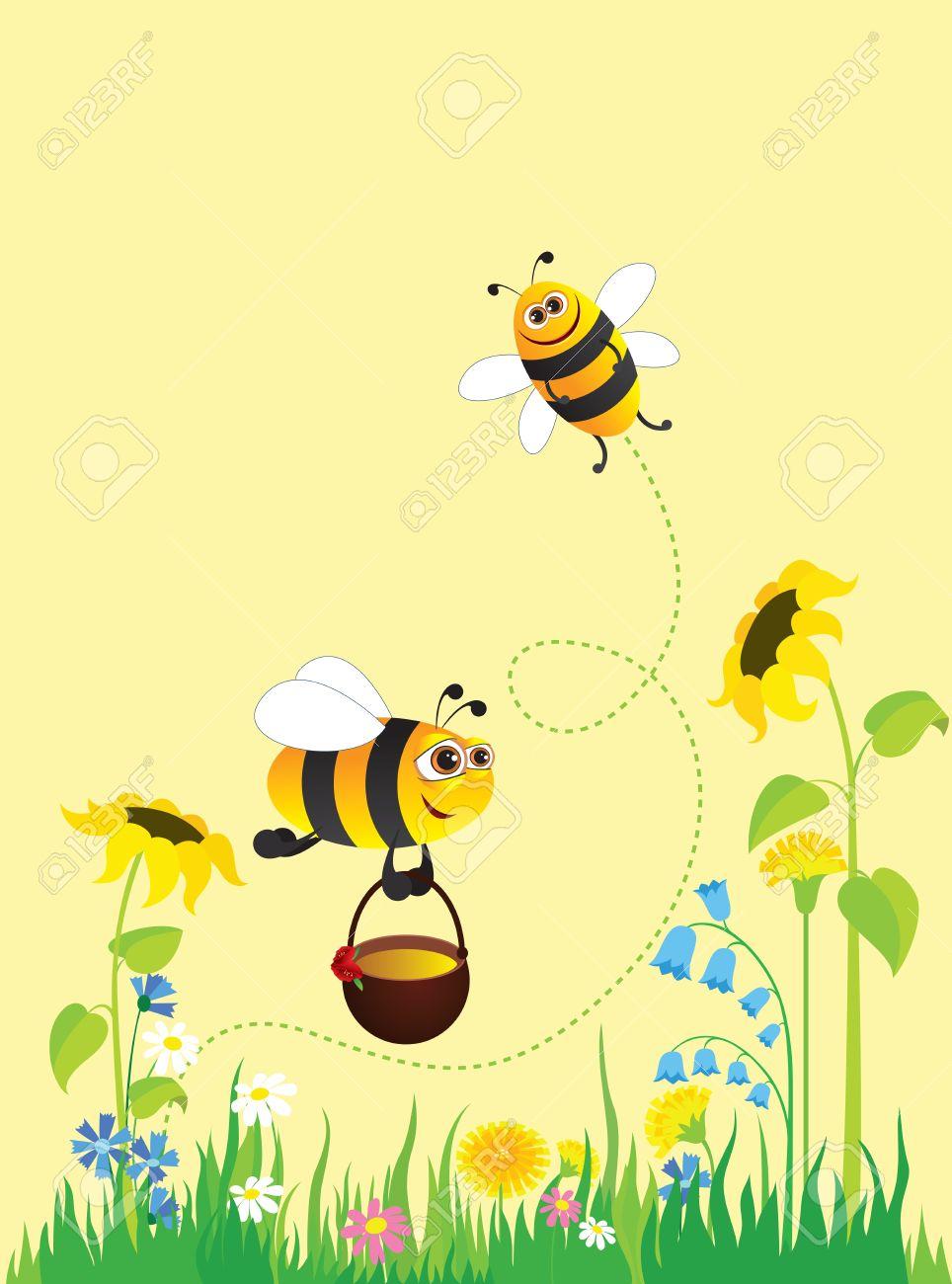 浓郁的花香,引来了很多蜂蝶,还有勤劳的小蜜蜂,提着小花篮,上下飞舞忙图片