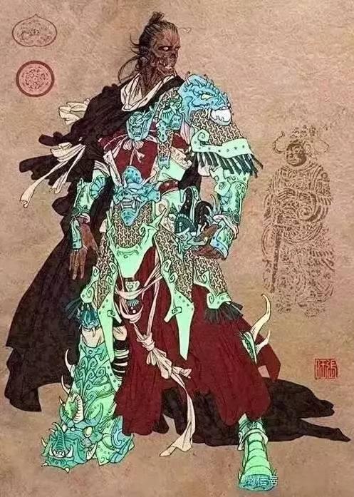 杨业命六郎寻弟,自己逃至苏武庙,见庙前立有李陵碑,忠奸并立,感触良深