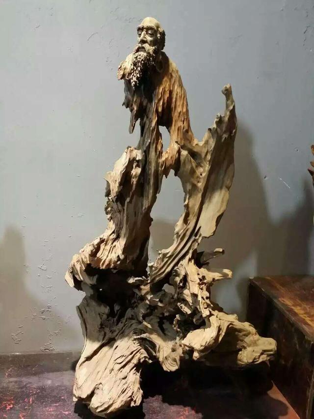 十件朽木根雕作品,十段不朽传奇故事