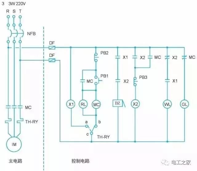 如何将电气图转换为plc梯形图?