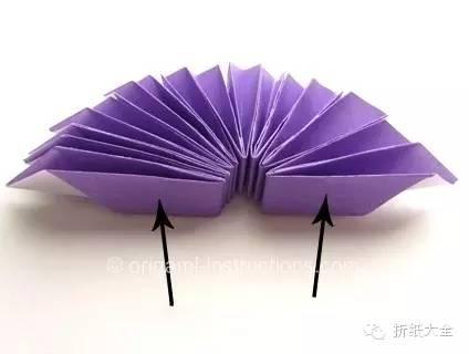 简单折纸花组合折纸图解教程