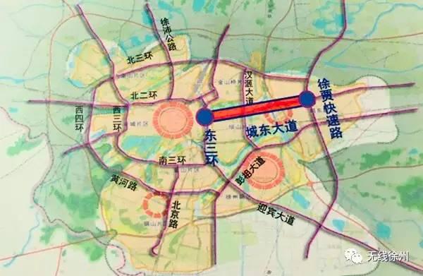 徐州市地铁建设规划图