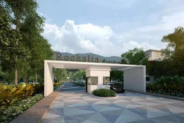 操刀设计典雅 经济型别墅,每栋均享有 空中花园
