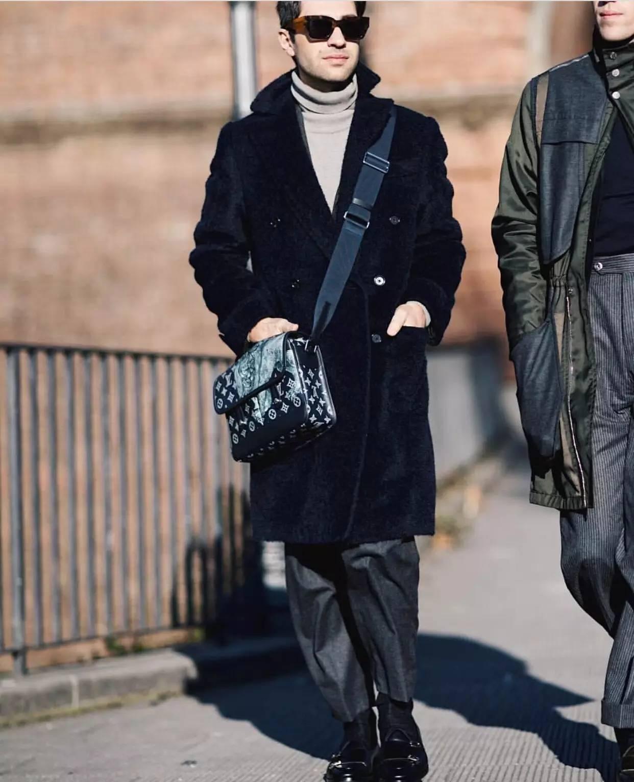 男人背小包真的就很娘吗?男士也很流行背小包 男士时尚 图14