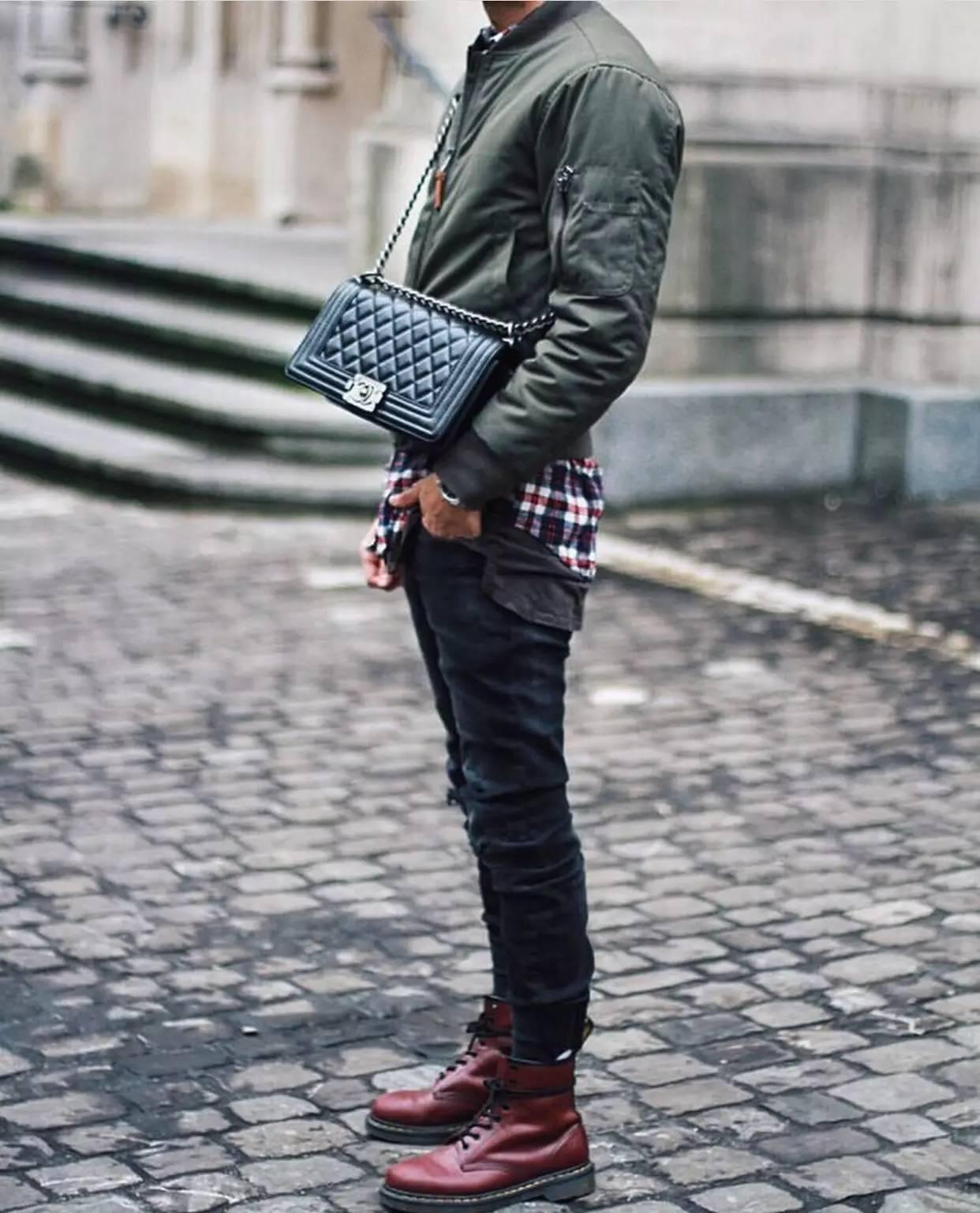 男人背小包真的就很娘吗?男士也很流行背小包 男士时尚 图24