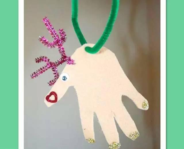 幼儿园创意手掌手工,创意无限!图片