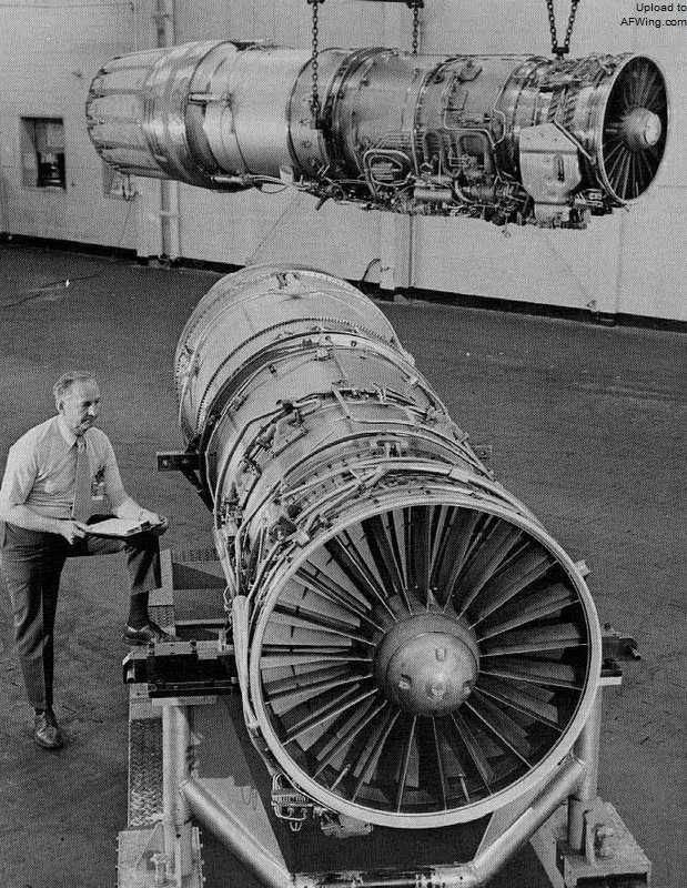 这是一种轴流式涡扇发动机,涵道比0.图片