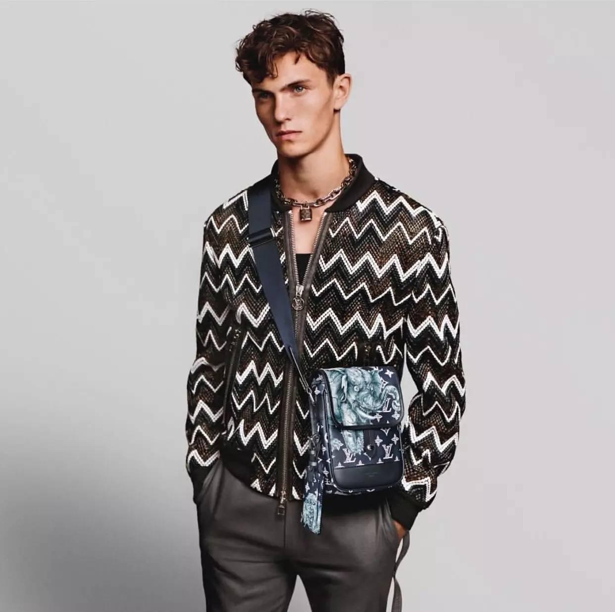 男人背小包真的就很娘吗?男士也很流行背小包 男士时尚 图12