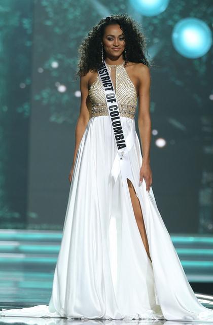 美国小姐出炉 哥伦比亚区小姐夺冠泪洒现场(组图)