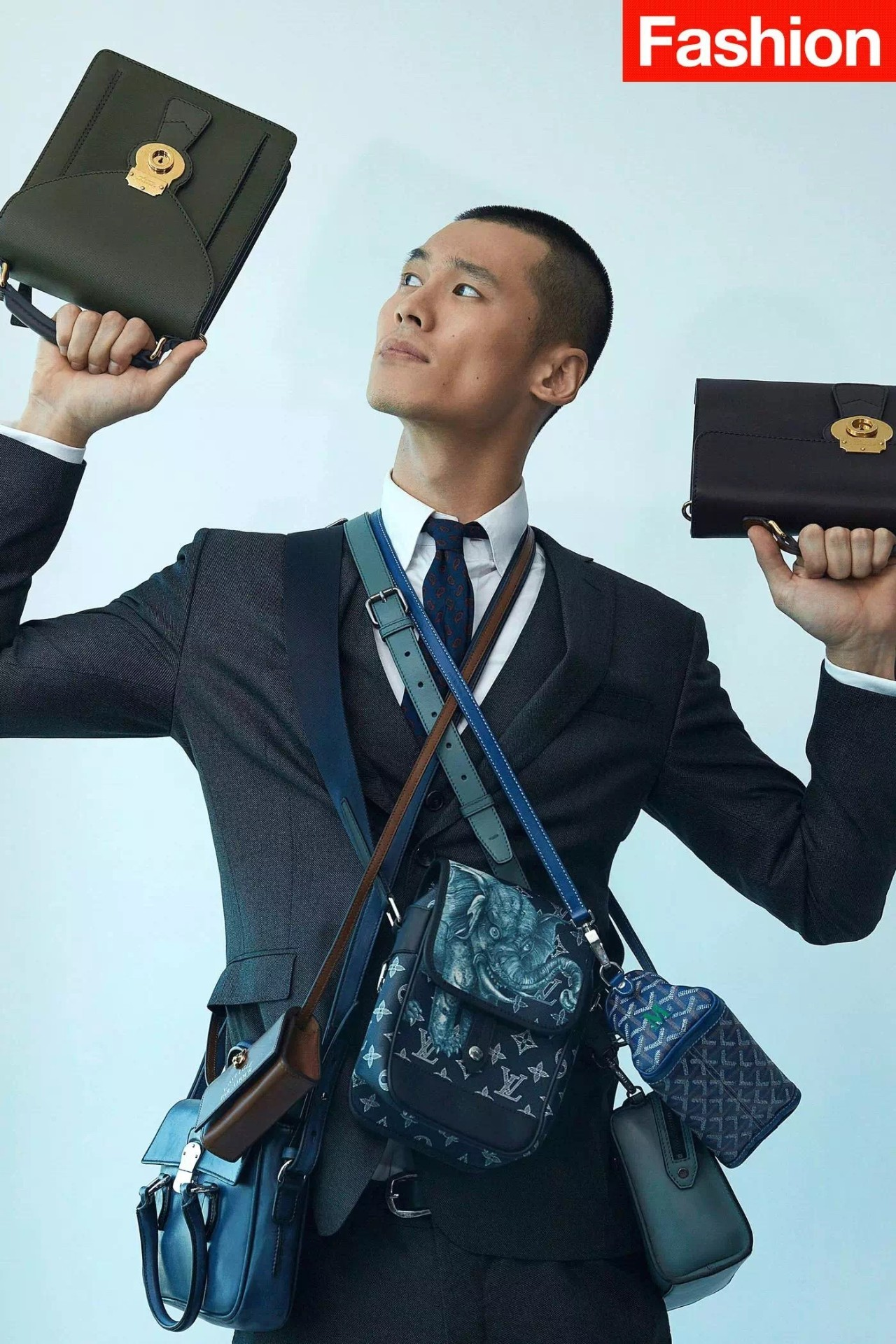 男人背小包真的就很娘吗?男士也很流行背小包 男士时尚 图3