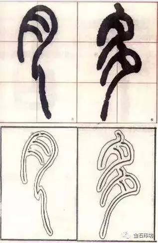 篆书的笔法及其相关技巧