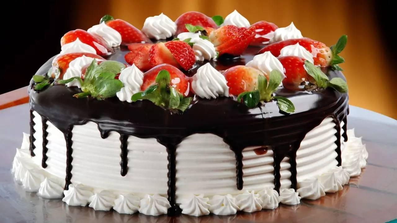 奶油蛋糕图片简单