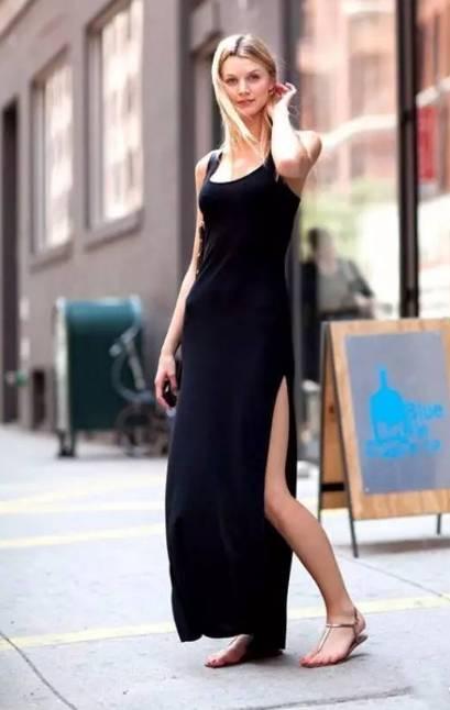 连衣裙 平底鞋,春夏最美搭配图片