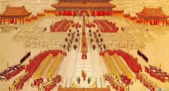 唐朝官员服装服饰 三 百官朝服之 武弁图片