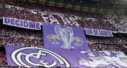 欧冠皇马vs马竞直播_皇马和尤文将争夺本赛季的欧冠冠军,但皇马球迷们购买决赛球票的热情
