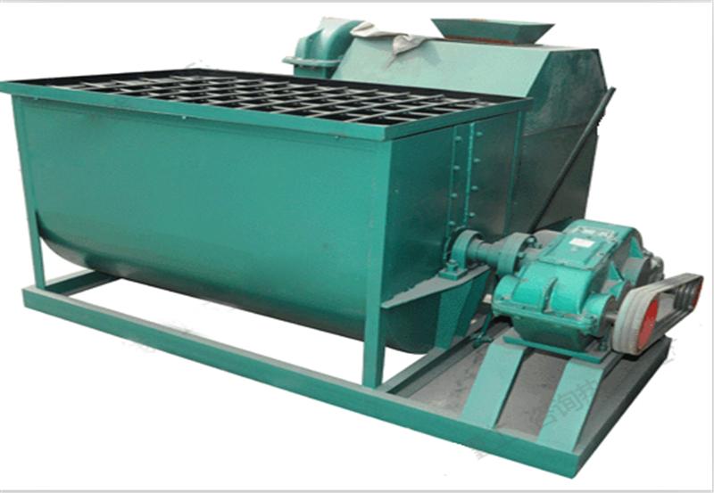 型煤机械设备双轴搅拌机有哪些特点