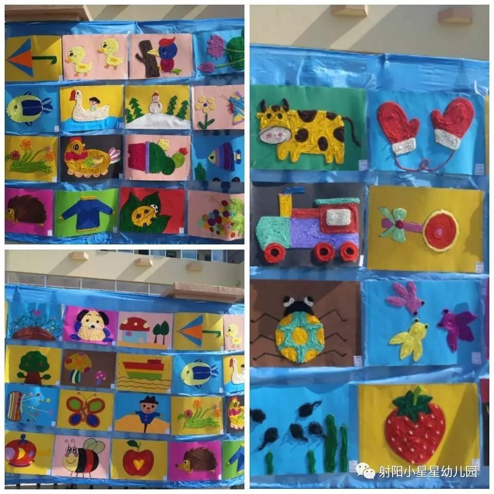 近童画 小星星幼儿园庆六一师幼绘画作品展活动侧记