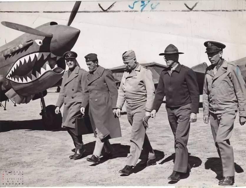 民国空军 陈纳德和他的 飞虎队