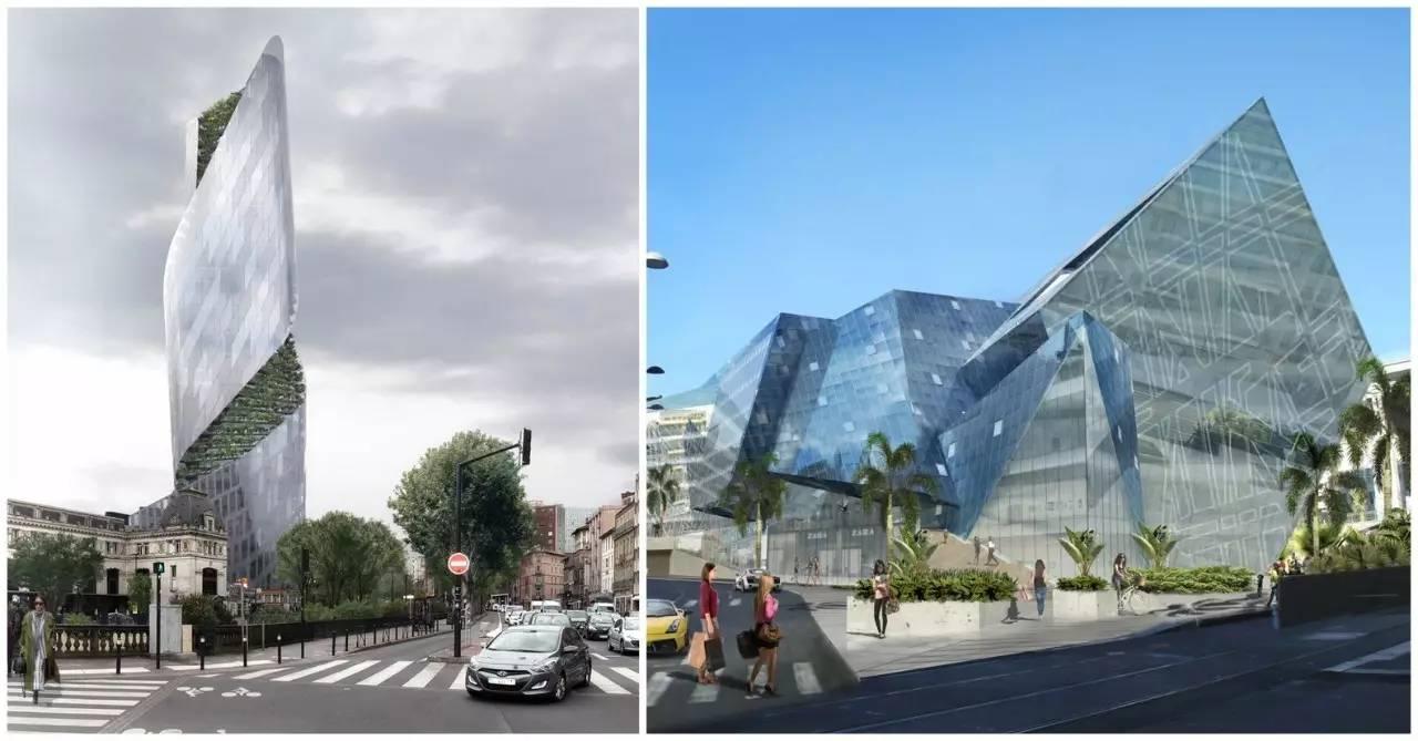 是激活城市空间还是破坏城市原有形态?——里伯斯金将在法国两座古城中建造解构主义新建筑