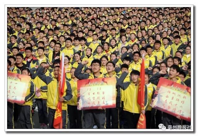本地丨@亳州学校:政治24所高中全市及格201高中公布家长不图片