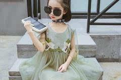 2017年十款最具购买价值的中档女童夏装连衣裙