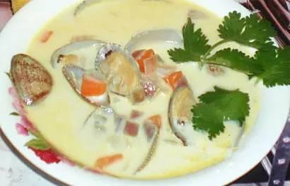 创意海鲜|恐龙+花蛤?造就不一样的酒店汤!汉庭电话美食园牛奶图片