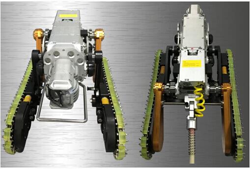 履带式管道爬行检测机器人 9997B