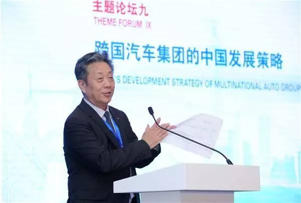 中国汽车工业协会常务会长 董扬