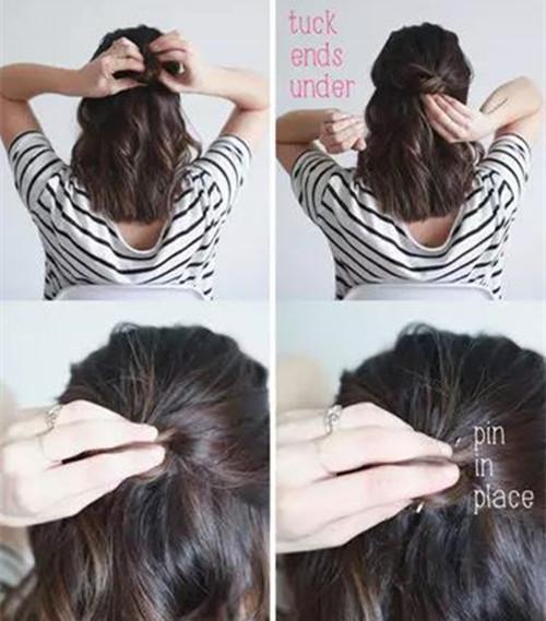 头发不知道怎么弄?教你编3种懒人扎发!