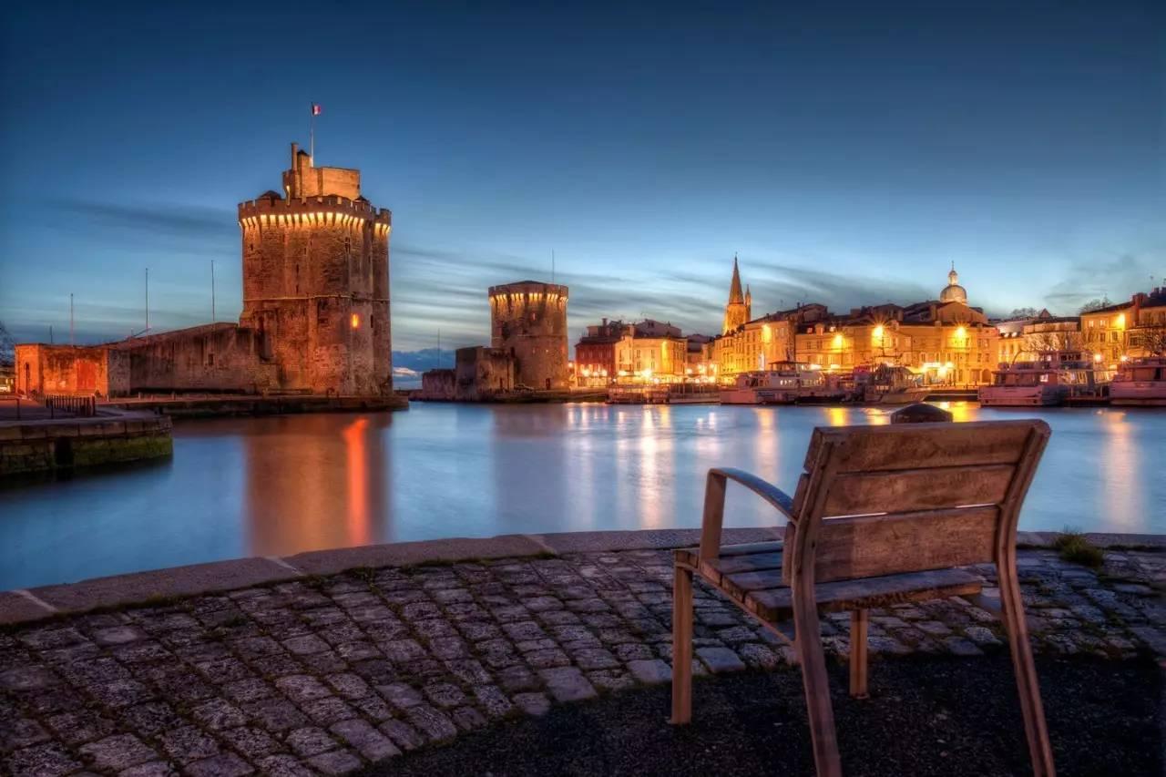 la rochelle & le de ré - 旅游者的天堂,水上爱好者的乐园,在夏日阳