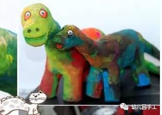 幼儿园创意恐龙手工 吊饰 制作大全
