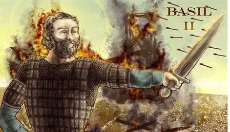 西尔二世拜占庭马其顿王朝第十一位皇帝,在位时间长达62年.他在位