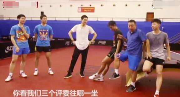 蔡振华儿子微博点名国乒主力后,全队都为他加油!