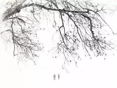像深扎的树根一样,一往情深地等你