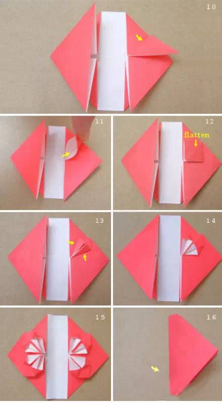 心形钩针图解步骤