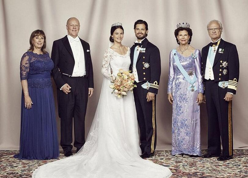 10张照片带你看出欧洲皇室的婚礼排场!图片