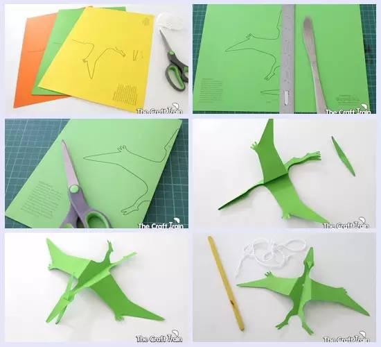 幼儿园创意恐龙手工(吊饰)制作大全