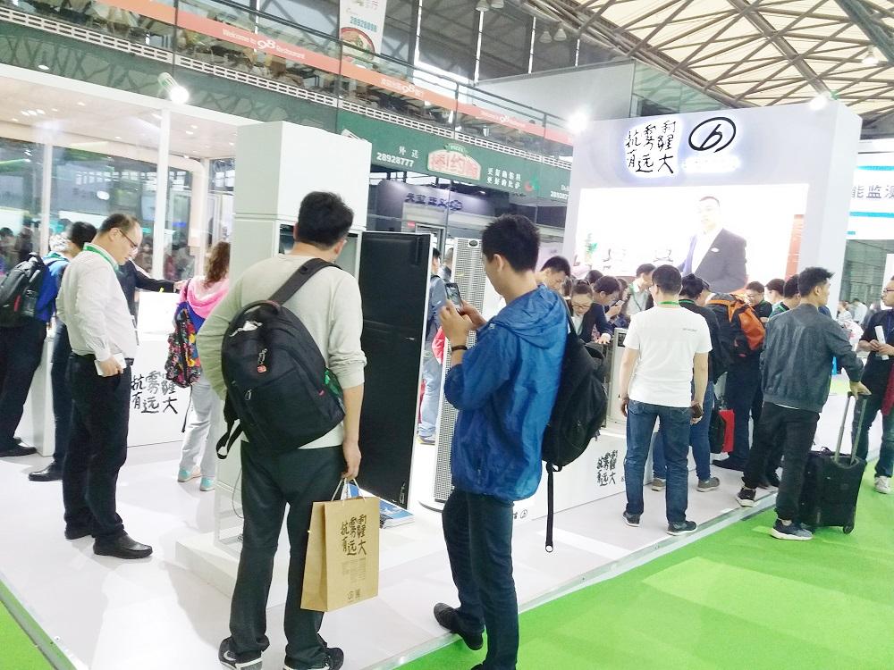强势围观第13届净博会新风净化展品牌企业新品一览