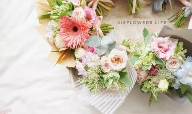 慢时光线上公开课 法式少女花束 一枝花的价格,你就可以get到自己做花束的神技能图片