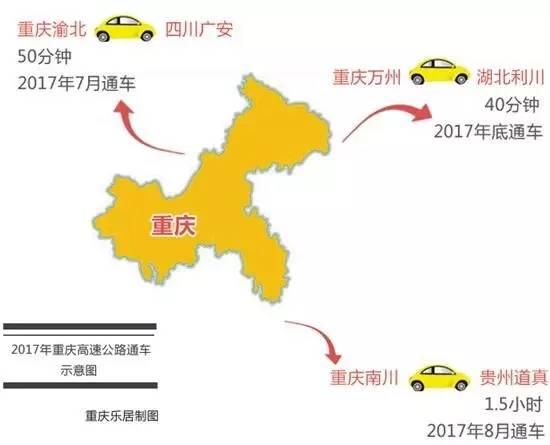 外联 内畅 互通 未来重庆交通配套开挂了