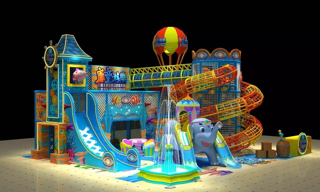 室内儿童乐园中的热门项目,你都有了吗