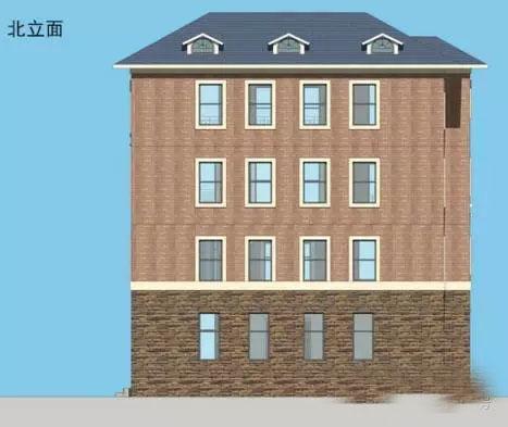 13X11米新农村自建4层现代别墅