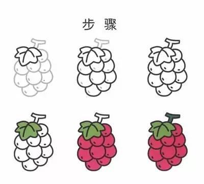 儿童水果简笔画教程,太棒了,一看就会