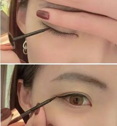 女人学会这样画眼线,能让自己美一辈子图片