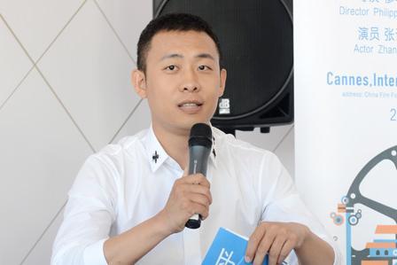 张译戛纳出席论坛 感叹演员在食物链的最底层