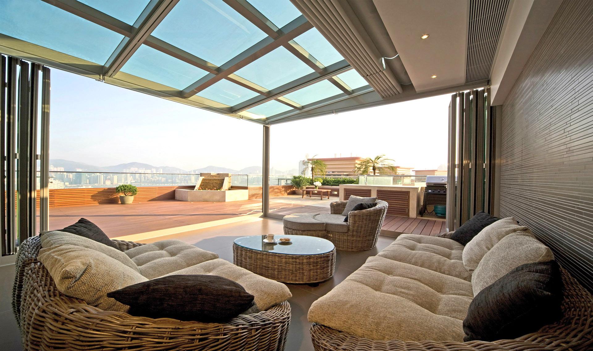 阳光房的设计欣赏 阳光房装修图片