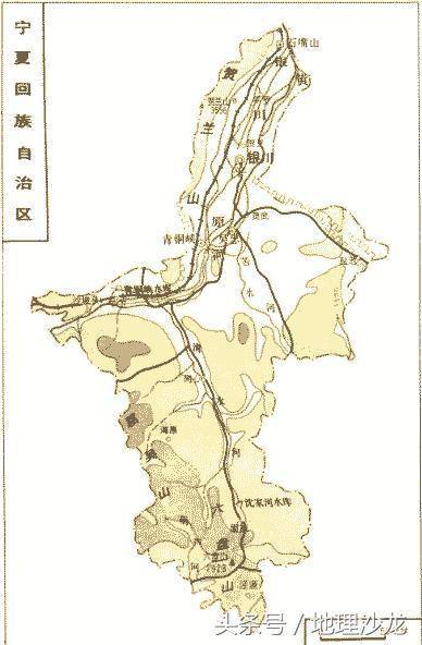 内蒙古与宁夏经济总量_宁夏地图