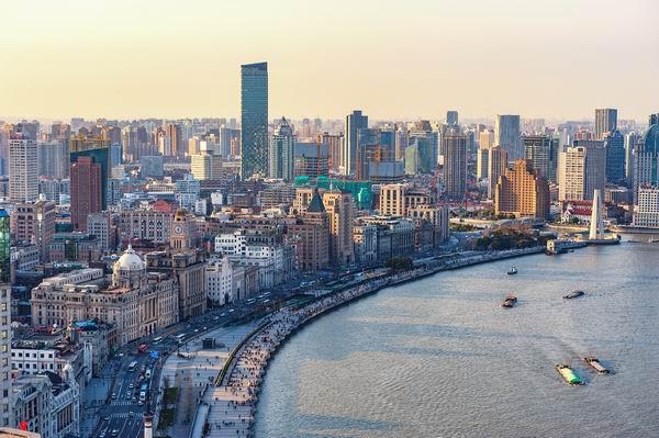 """上海外滩""""万国建筑博览汇"""""""