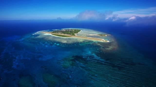 中国最纯净的岛屿 西沙群岛